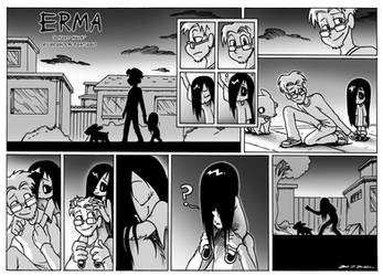 Erma- A Hard Walk by OUTCASTComix