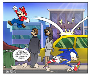 My Reaction to Super Mario Odyssey by OUTCASTComix