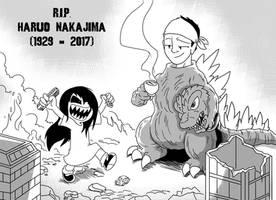 R.I.P. Haruo Nakajima by OUTCASTComix