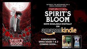 SPIRIT'S BLOOM IS NOW ON AMAZON KINDLE!!