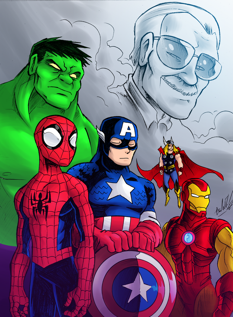 Stan Lee Tribute By OUTCASTComix On DeviantArt