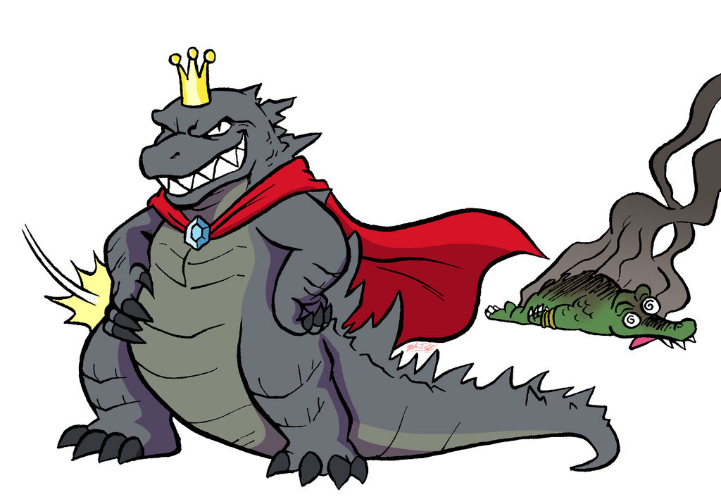 The REAL King Is Here by OUTCASTComix