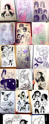 January 2019 Daily Sketches by OUTCASTComix