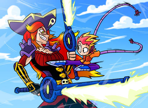 Battle in the Sky by OUTCASTComix