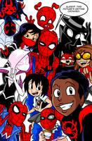 One Big Happy Spider Family