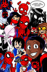One Big Happy Spider Family by OUTCASTComix