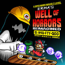 Mario Maker 2: Erma's Well of Horrors Reimagined by OUTCASTComix