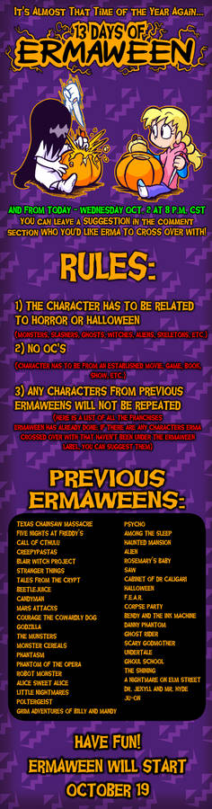 ERMAWEEN 2019 Announcement
