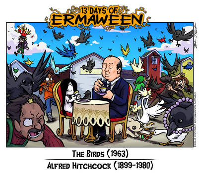 13 Days of Ermaween 2019- Day 8