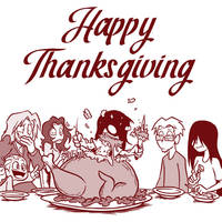 HAPPY THANKSGIVING 2019 by OUTCASTComix