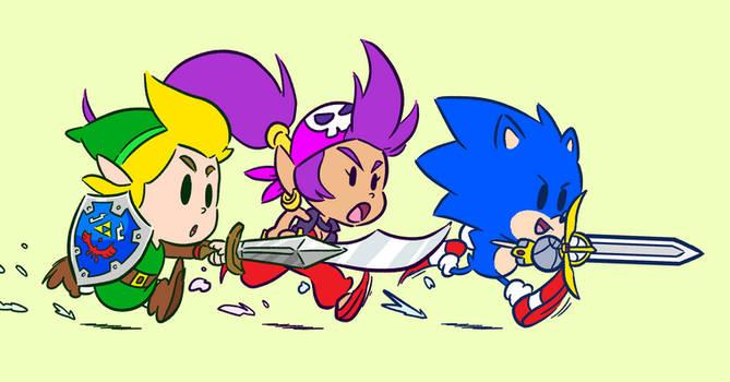 Dash Attack!