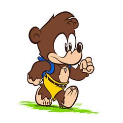 The Goofy Bear Boy