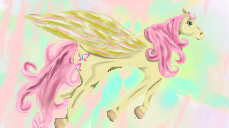 Fluttershy - Flying High by MewMewS25 on DeviantArt