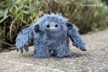 Blue Moog Monkey by HollowShells