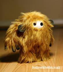 Ginger Monkey Moog by HollowShells