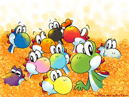 LOTS OF YOSHI by relyon