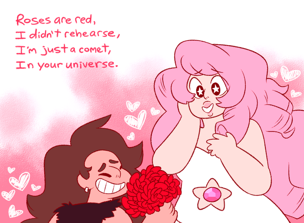 I was planning on drawing these two for Valentine's Day for a LONG time!! I ship Rose and Greg so much it hurts! ;w;;  Greg is one of my favorite SU characters, and I really love his younger d...
