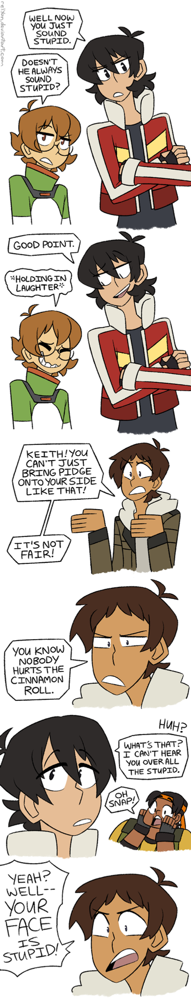 This is a stupid comic! by relyon