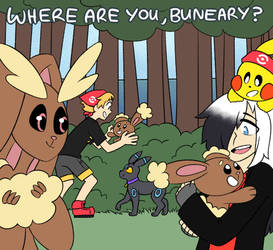 EVENT: WHERE ARE YOU, BUNEARY? by relyon