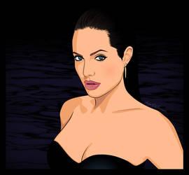 Angelina Jolie by nadda1984