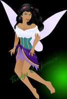 Esmeralda, Fairy of Bravery by nadda1984