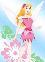 Flower-Fairy Aurora by nadda1984