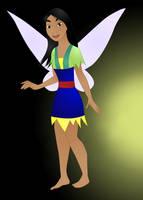 Mulan, Fairy of Honor by nadda1984