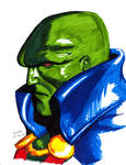 Martian Manhunter sketch
