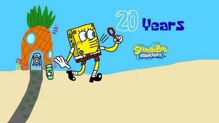 SpongeBob SquarePants 20th Anniversary by SmashGamer16