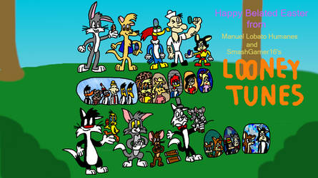 Looney Tunes' Belated Easter by SmashGamer16