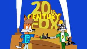 Fabian and Rafael in 20th Century Fox Logo