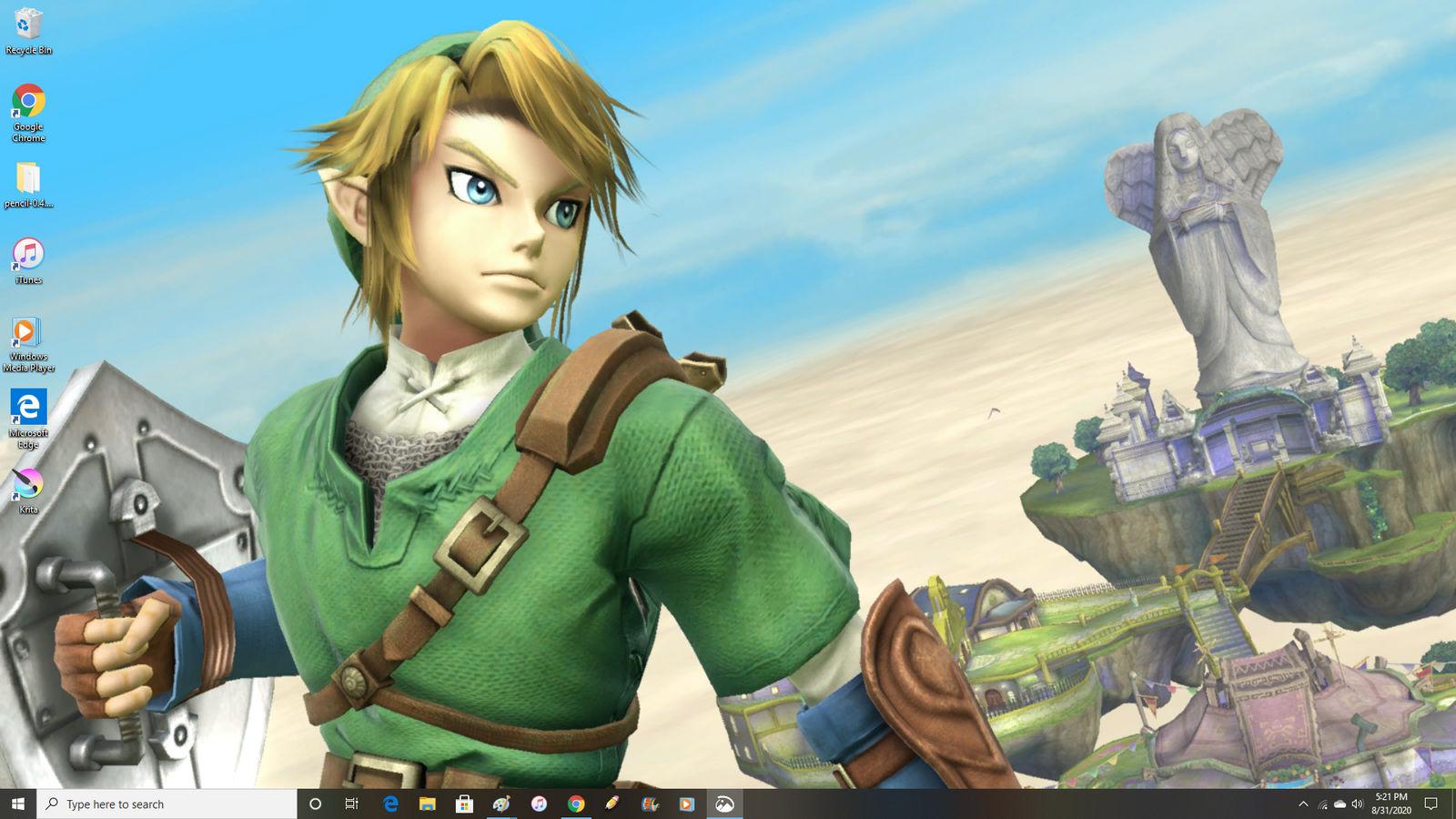 Link In My Desktop Wallpaper By Smashgamer16 On Deviantart