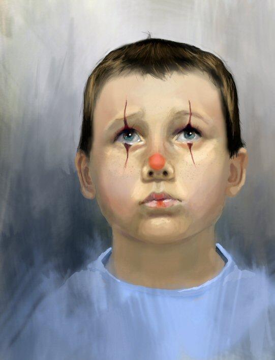 boy Clown by angelameds
