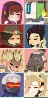 Overwatch Profile Icons (Set 1)