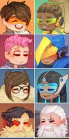 Overwatch Profile Icons (Set 2)