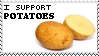 SUPPORT POTATOES by ROBlNHOOD