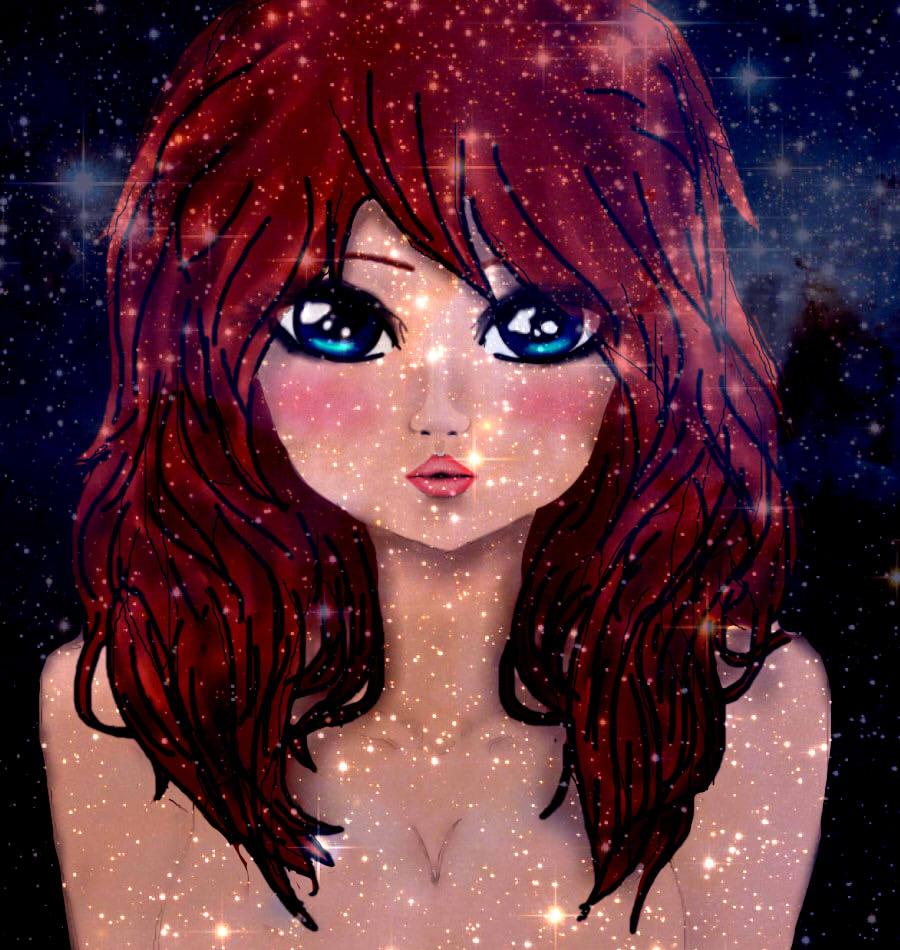 Galaxy Girl by kitten6288