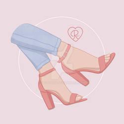 Pink Heels4
