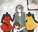 Headless Mami and Celty in Ib