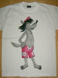 T-Shirt Wolf by Ashelinka
