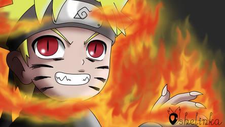 Kyuubi Naruto by Ashelinka