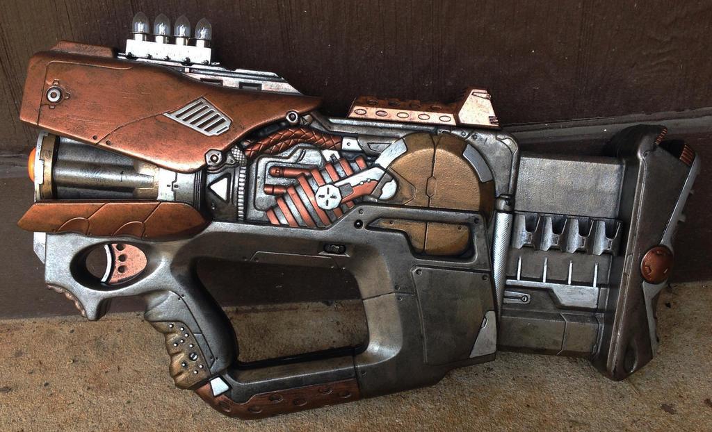 Steampunk Minigun on Etsy by SteaMiscellania