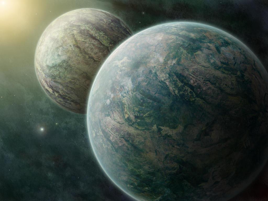 Binary Planets by ValentiniaK