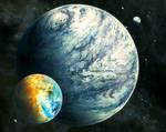 Habitable Moon System
