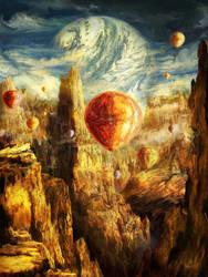 Ballooning Through the Cosmic Chasm