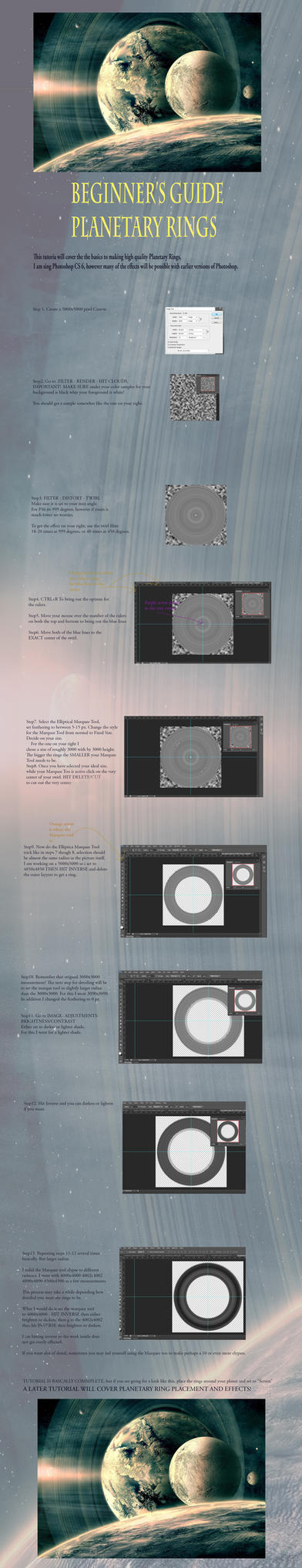 Planetary Ring Tutorial (Page 1) by ValentiniaK
