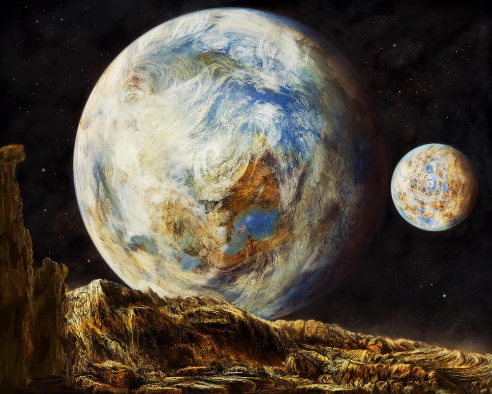 Habitable Worlds by ValentiniaK