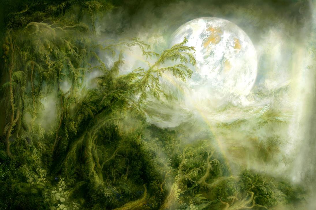 Alien Forest by ValentiniaK