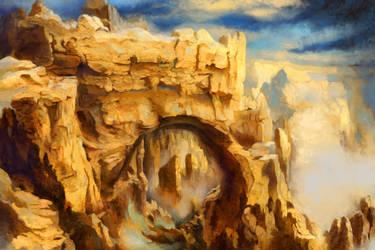 Natural Arch by Valinakova