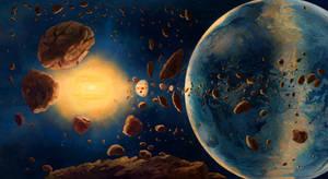 Red Dwarf Solarsystem